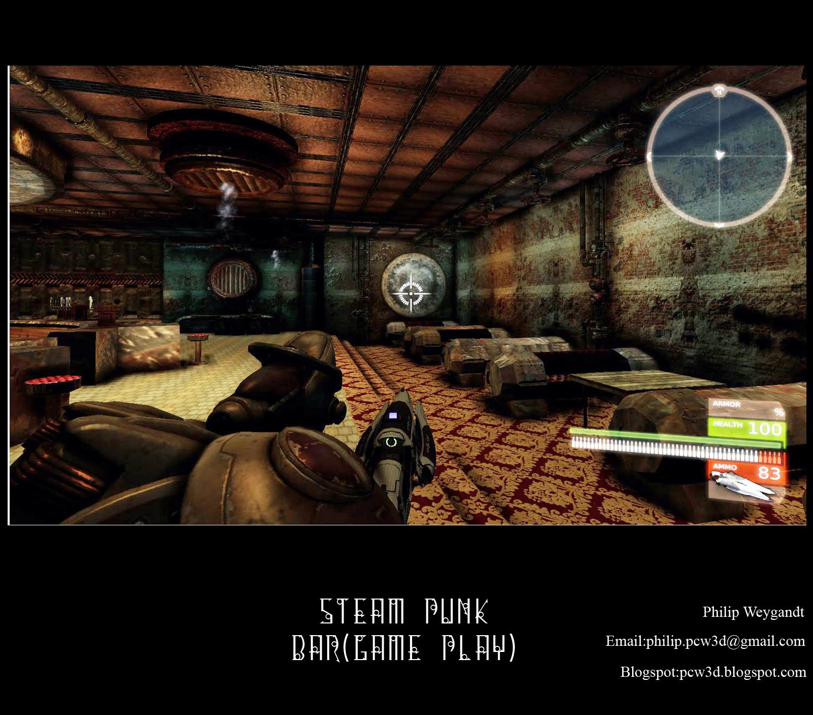 Steampunk Bar (Game Play_02)   Philip Weygandt Punk